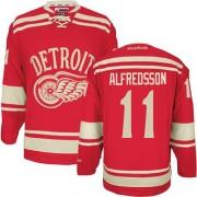 Reebok Detroit Red Wings 11 Men's Daniel Alfredsson Red Premier 2014 Winter Classic NHL Jersey