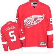 Reebok Detroit Red Wings 5 Men's Nicklas Lidstrom Red Premier Home NHL Jersey
