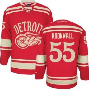 Reebok Detroit Red Wings 55 Men's Niklas Kronwall Red Authentic 2014 Winter Classic NHL Jersey