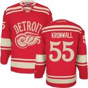 Reebok Detroit Red Wings 55 Men's Niklas Kronwall Red Premier 2014 Winter Classic NHL Jersey