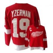 CCM Detroit Red Wings 19 Men's Steve Yzerman Red Premier Throwback NHL Jersey