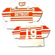 CCM Detroit Red Wings 19 Men's Steve Yzerman White Authentic Throwback NHL Jersey
