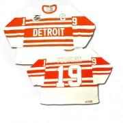 CCM Detroit Red Wings 19 Men's Steve Yzerman White Premier Throwback NHL Jersey
