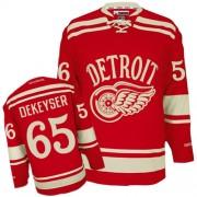 Reebok Detroit Red Wings 65 Men's Danny DeKeyser Red Premier 2014 Winter Classic NHL Jersey