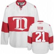 Reebok Detroit Red Wings 21 Men's Tomas Tatar White Premier Third NHL Jersey