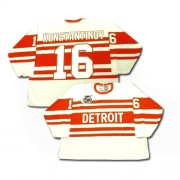 CCM Detroit Red Wings 16 Men's Vladimir Konstantinov White Authentic Throwback NHL Jersey