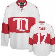 Reebok Detroit Red Wings 17 Men's David Legwand White Authentic Third NHL Jersey
